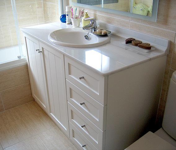 Blank interiorismo muebles de ba o for Muebles de bano de obra